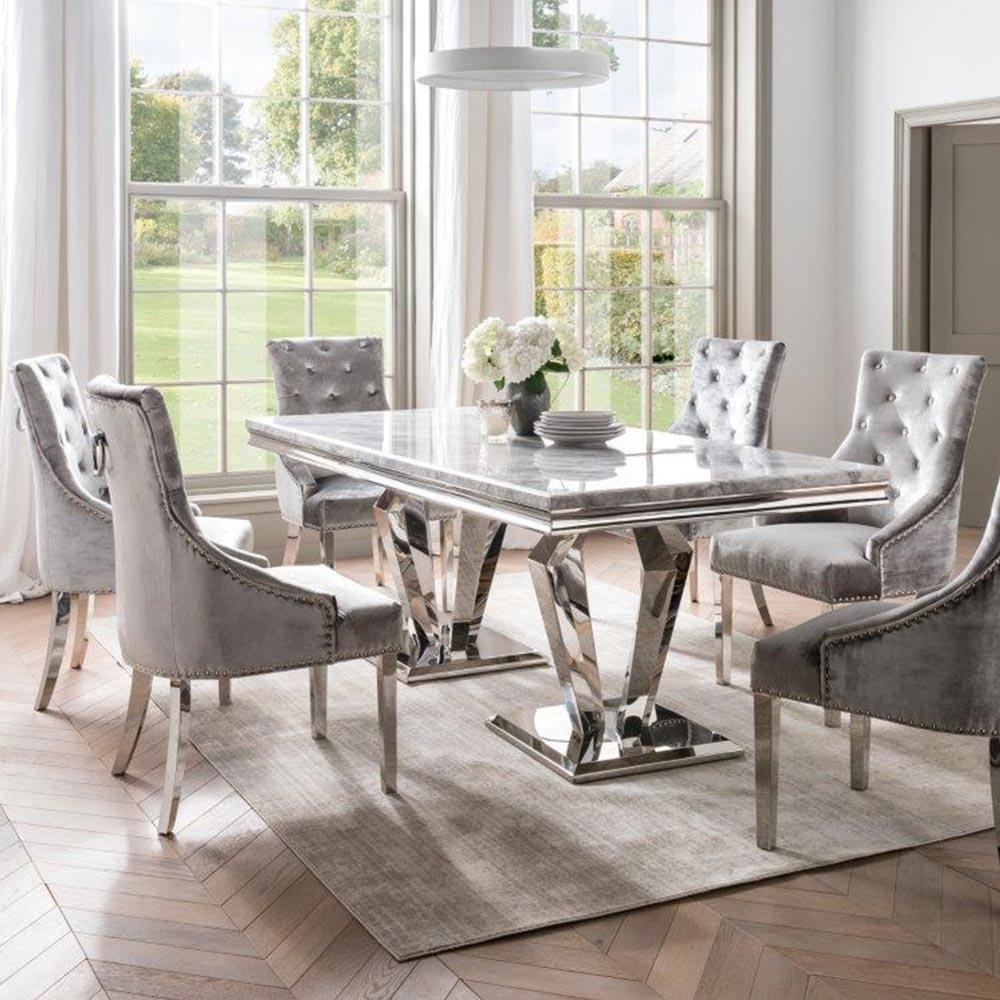 Arturo Grey Marble Top Furniture