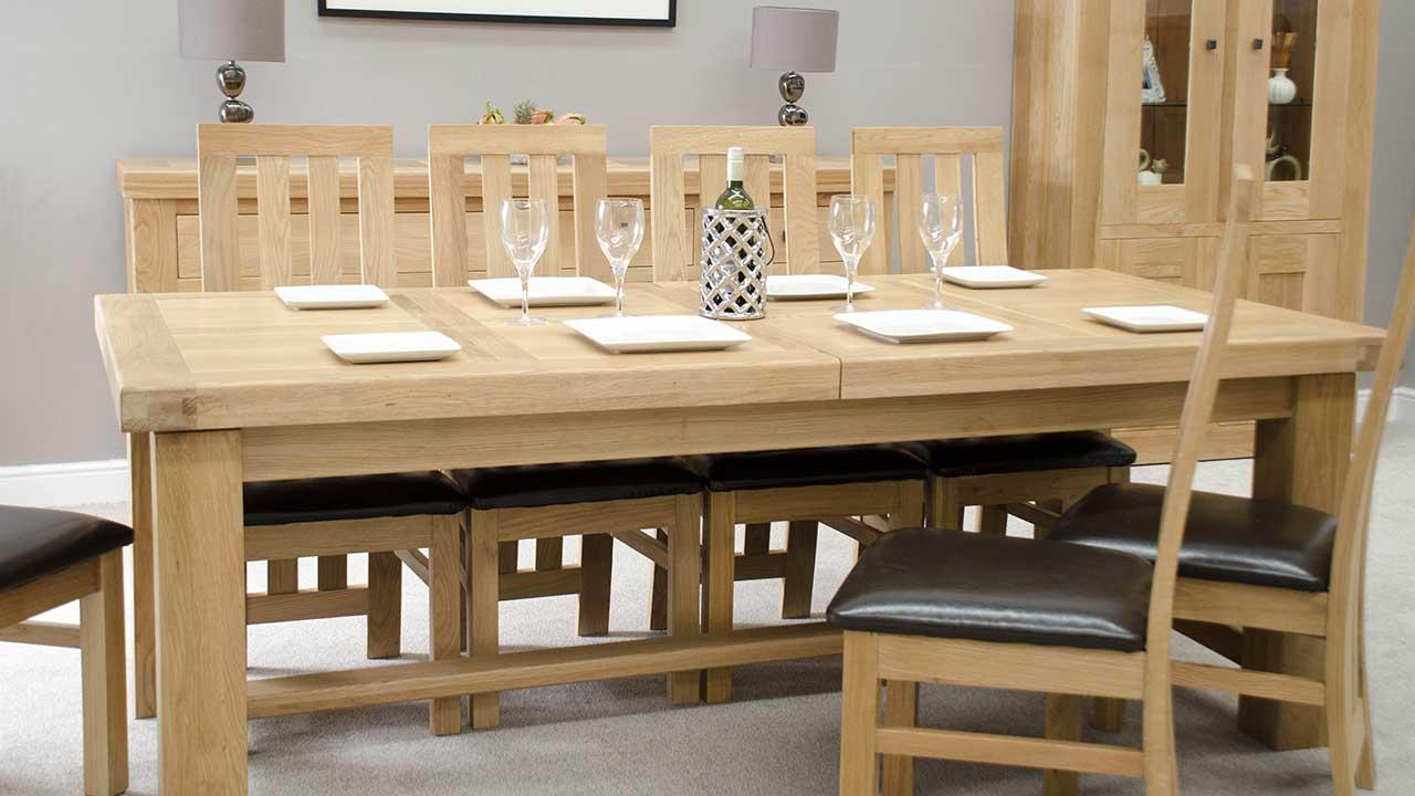 Oak Dining Room Furniture Dining Furniture House Of Oak