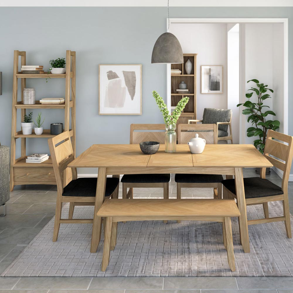 Malmo Oak  Living Room Furniture