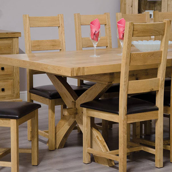 Deluxe Oak Dining Room Furniture