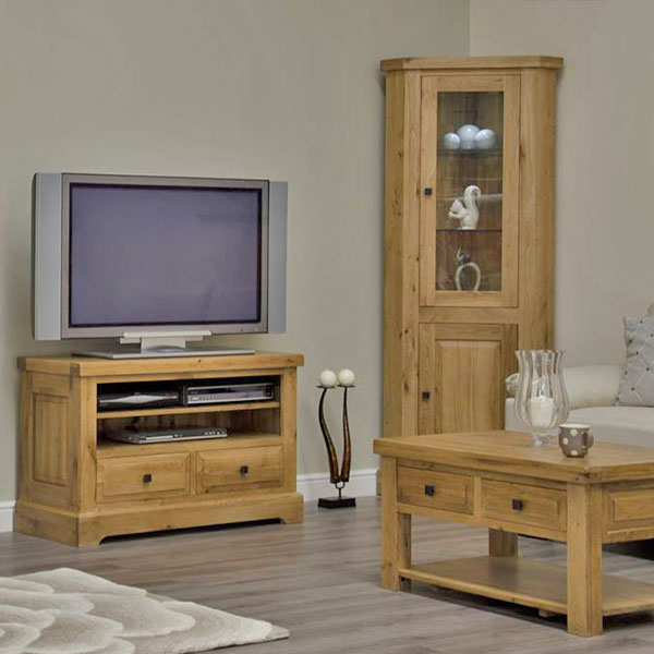 Deluxe Oak Living Room Furniture