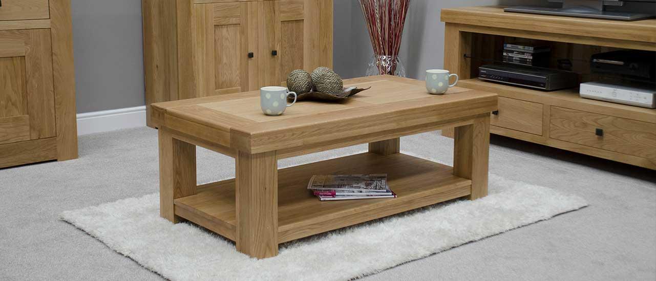 Oak Coffee Tables Solid Wood House Of Oak