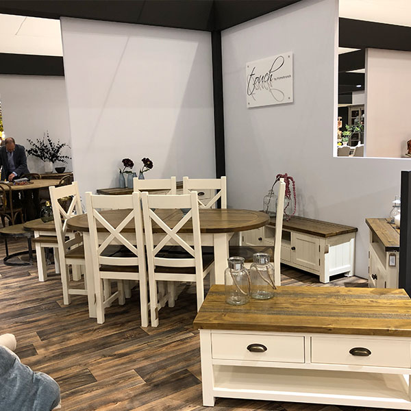 Cotswold Rustic Pine in White Dining Room Furniture