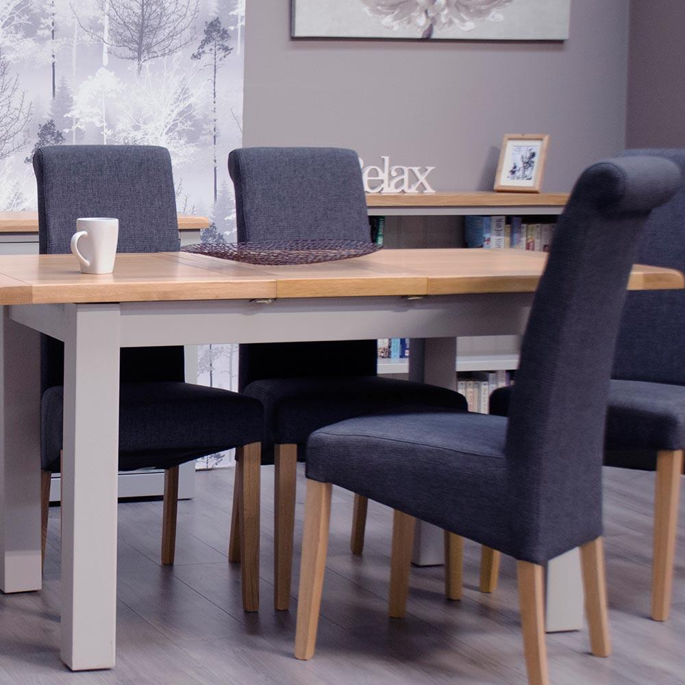 Diamond Grey Dining Room Furniture