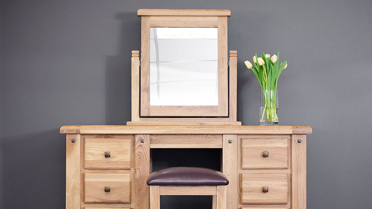 Oak Dressing Tables Vanity Tables House Of Oak