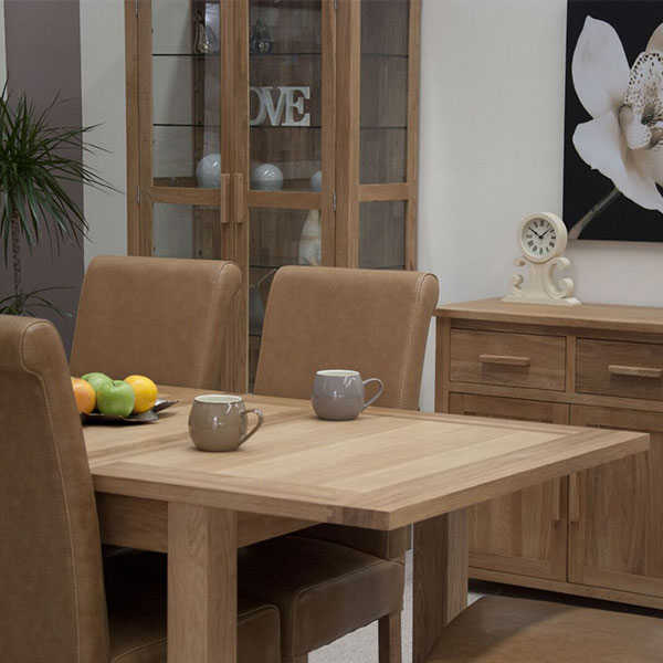 Opus Solid Oak Dining Room Furniture