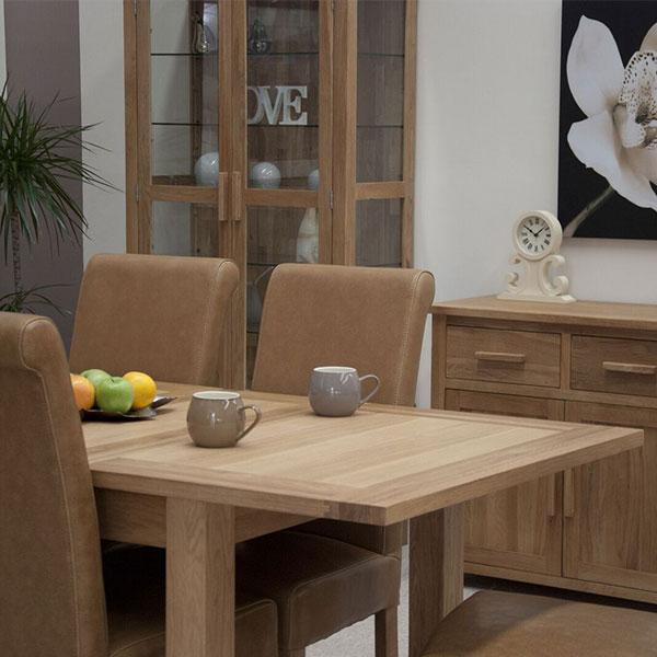 Opus Solid Oak Dining Room Furniture