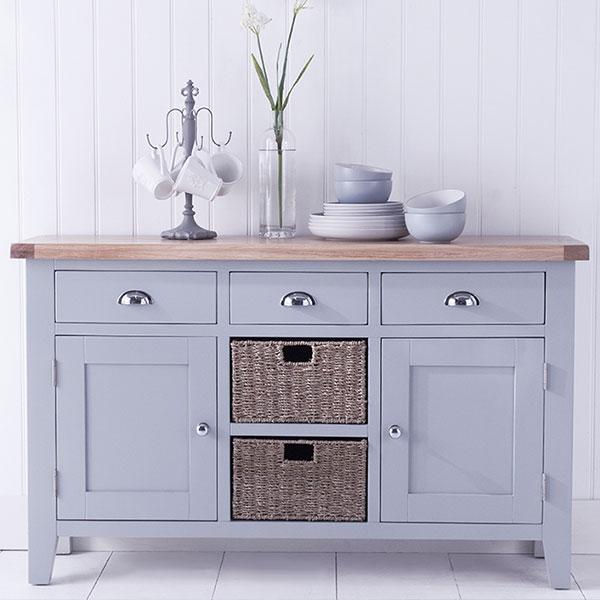 Florence Oak Grey Dining Room Furniture