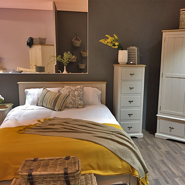 Freya Oak in Ivory or Putty Bedroom Furniture