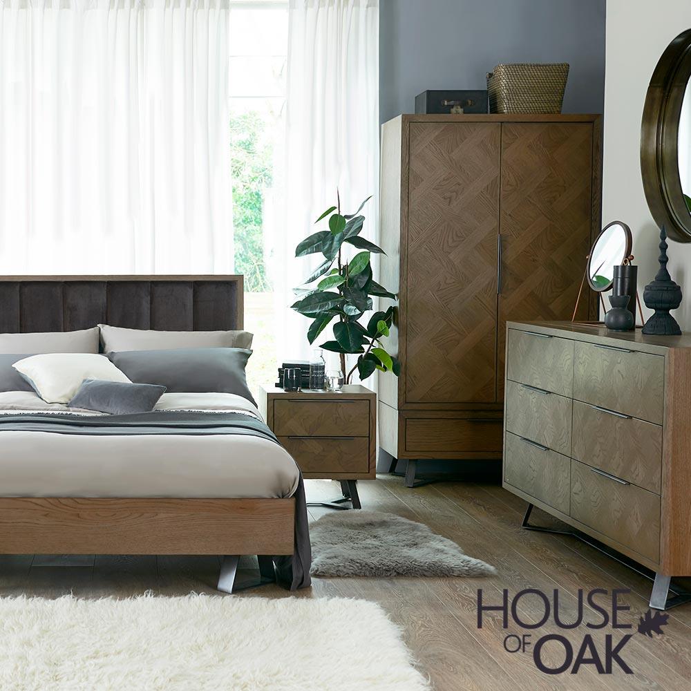Parquet Oak Bedroom Furniture
