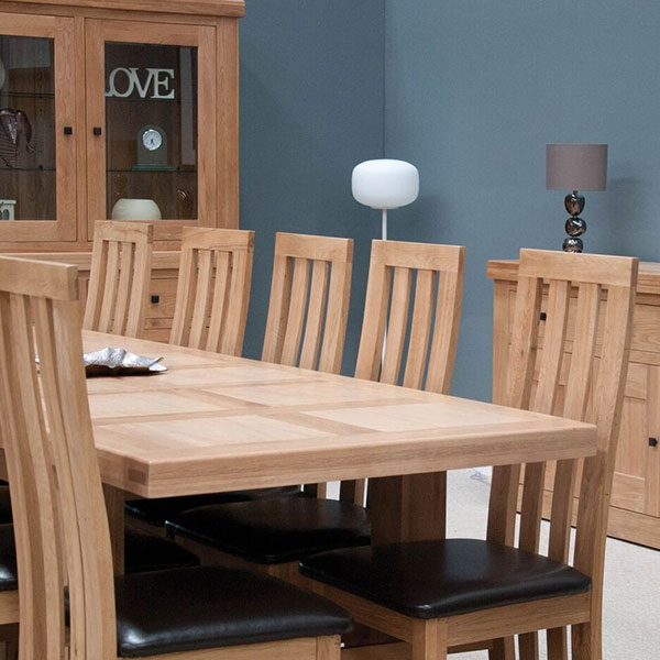 Bordeaux Oak Dining Room Furniture