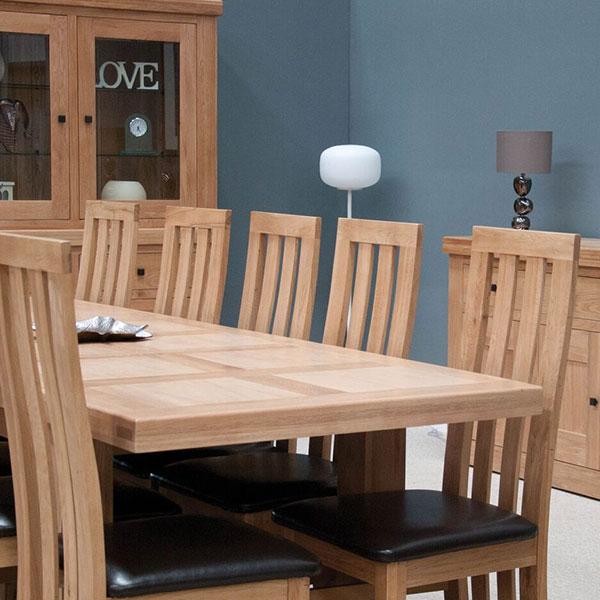 Bordeaux Oak Dining Room Furniture