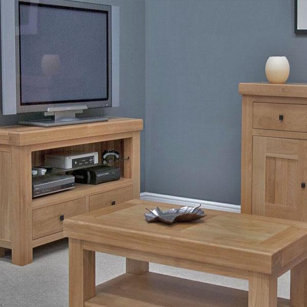 Bordeaux Oak Living Room Furniture