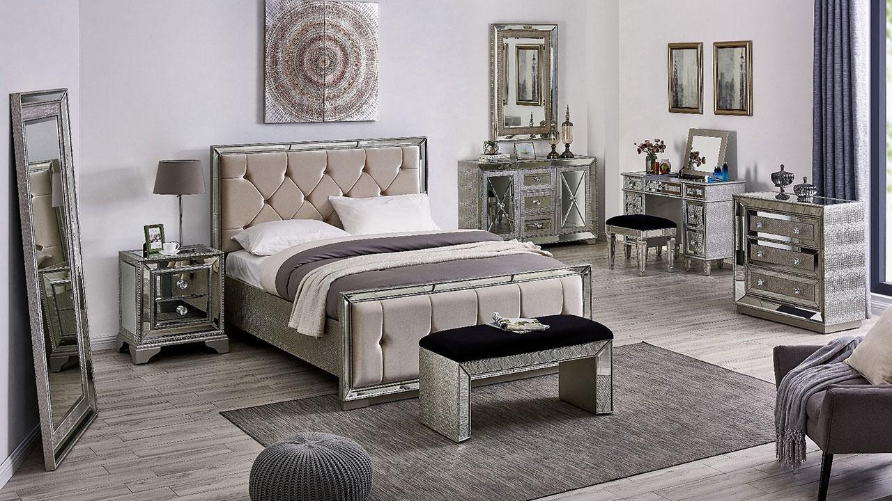 Mayfair Mirrored Bedroom Furniture House Of Oak