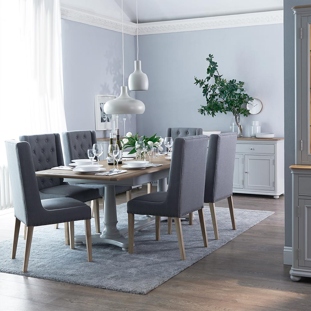 Chelsea Grey Dining Room Furniture