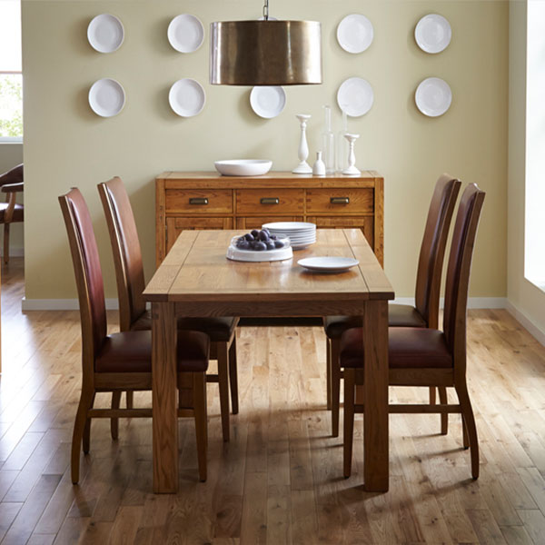 Montana Oak Dining Room Furniture