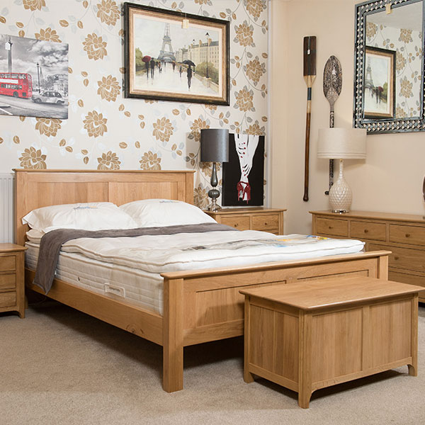 New England Solid Oak Bedroom Furniture