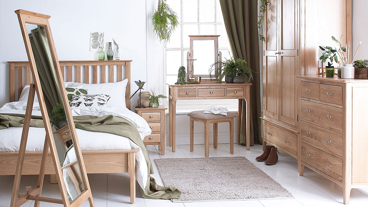 Oslo Oak Bedroom Furniture