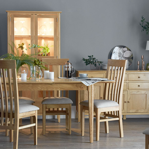 Oslo Oak Dining Room Furniture