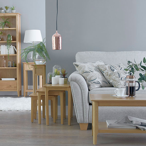 Oslo Oak Living Room Furniture