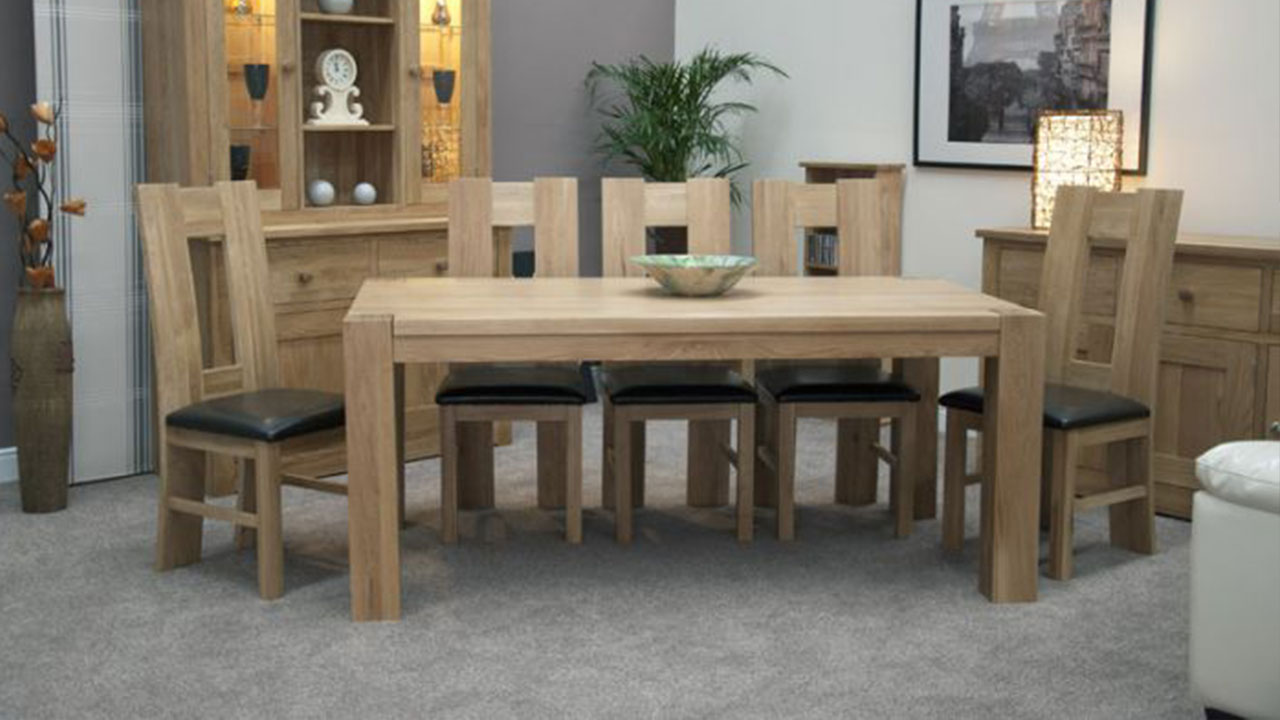 Pandora Solid Oak Dining Room Furniture