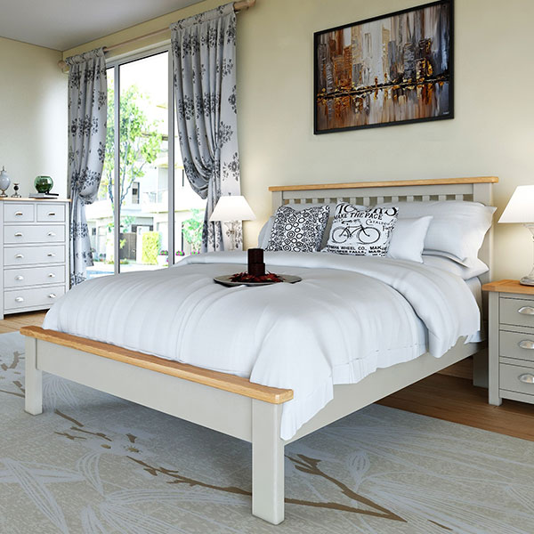 Portman Stone Grey Bedroom Furniture
