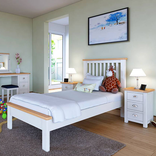 Portman White Bedroom Furniture
