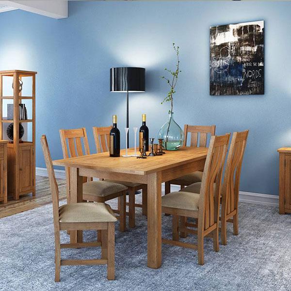 Portman Dining Room in Oak