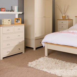 Portman Painted Oak in Cream Furniture