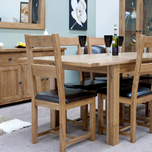 Rustic Solid Oak Furniture