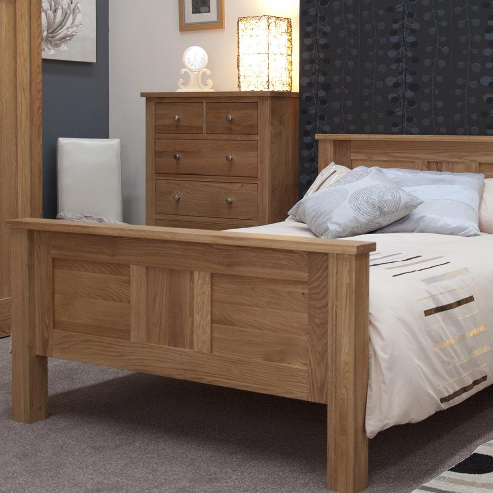 Torino Solid Oak Bedroom Furniture