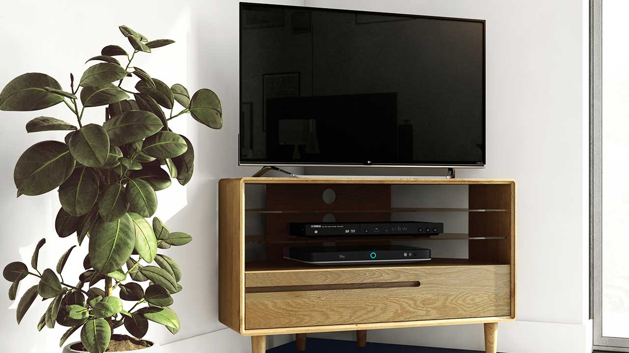 Oak Tv Unit Solid Wood Tv Stands House Of Oak