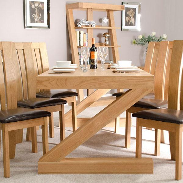 Z Solid Oak Dining Room Furniture