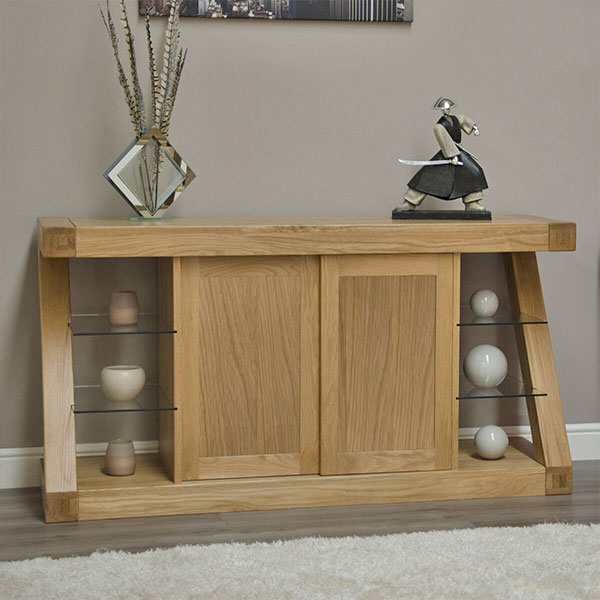 Z Solid Oak Living Room Furniture