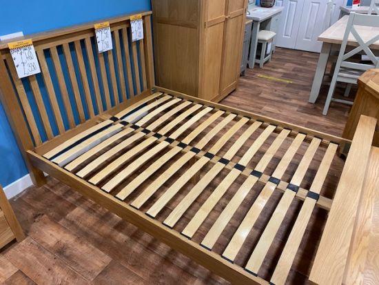 Aspen Oak 4Ft6 Double Bed