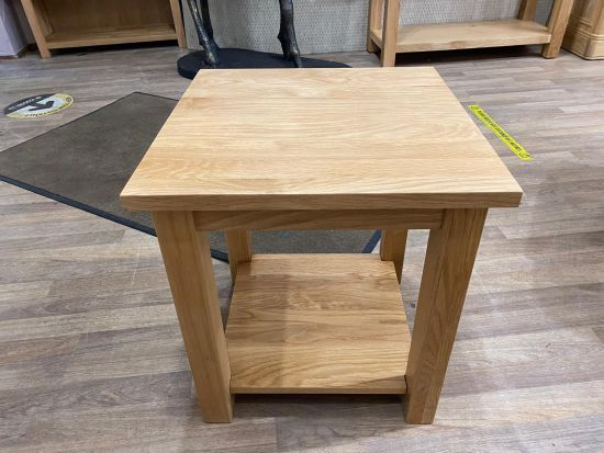 Aspen Oak Lamp Table