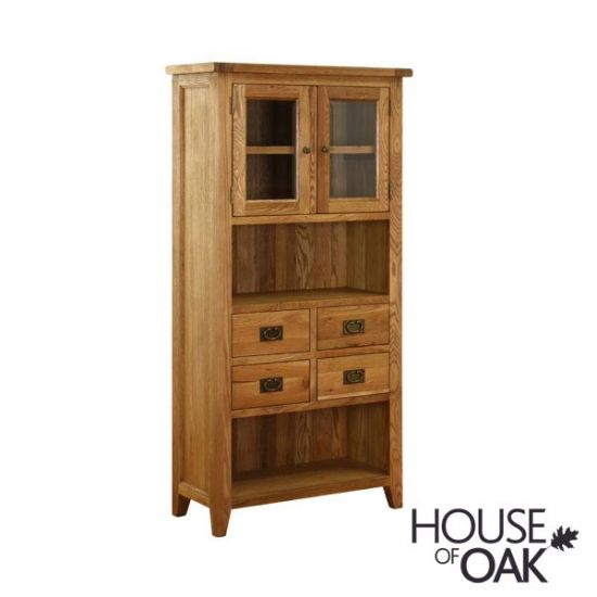 New Hampshire Oak Display Cabinet