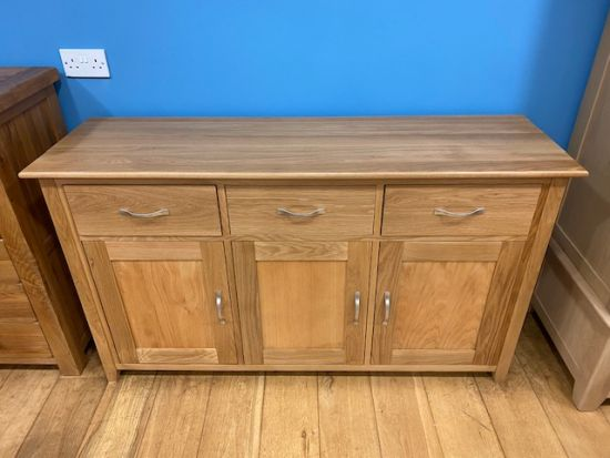 Provence Oak 3Dr 3Drw Sideboard