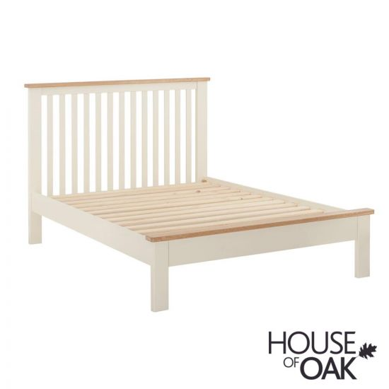 "Portman Painted 4ft 6"" Bed in Cream"