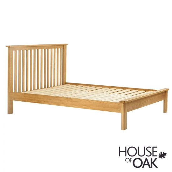 Portman 4FT 6'' Double Bed in Oak