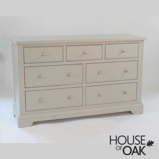 Symphony Grey 3 Over 4 Chest of Drawers