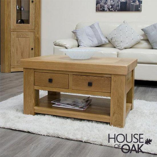 Manor Oak 3' x 2' Coffee Table