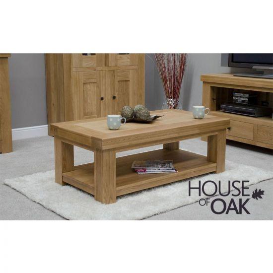 Manor Oak Coffee Table