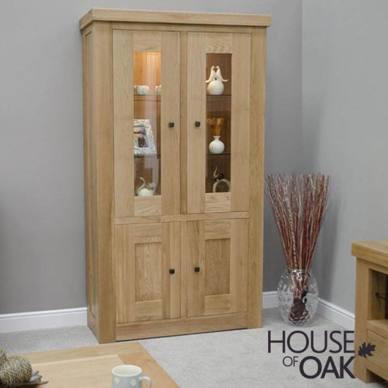 Manor Oak Display Unit