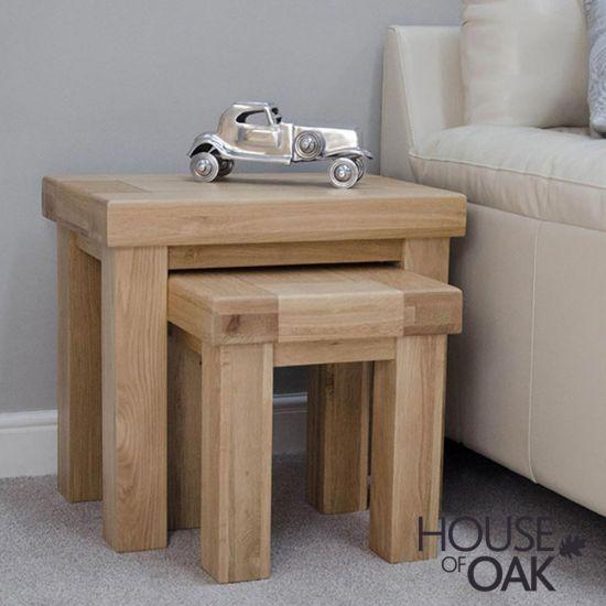 Manor Oak Nest  of Tables