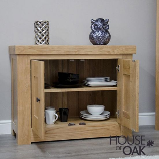 Manor Oak Occasional Cupboard