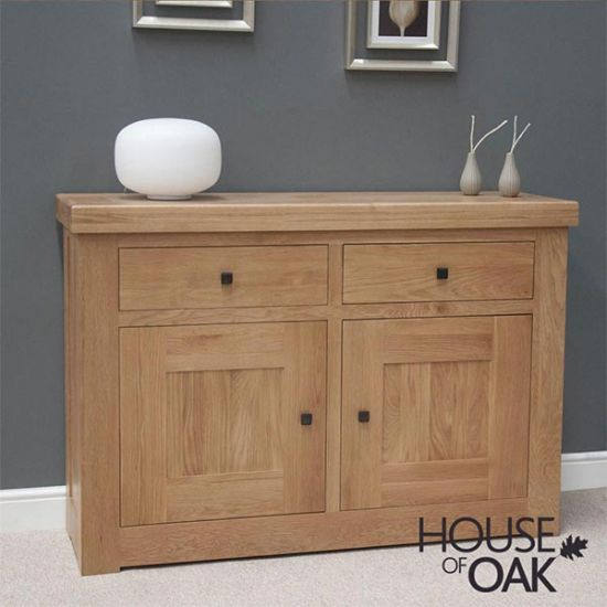 Manor Oak Small Sideboard - House of Oak