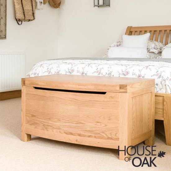 Bowness Oak Blanket Box