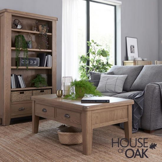 Chatsworth Oak Large Coffee Table with Drawers