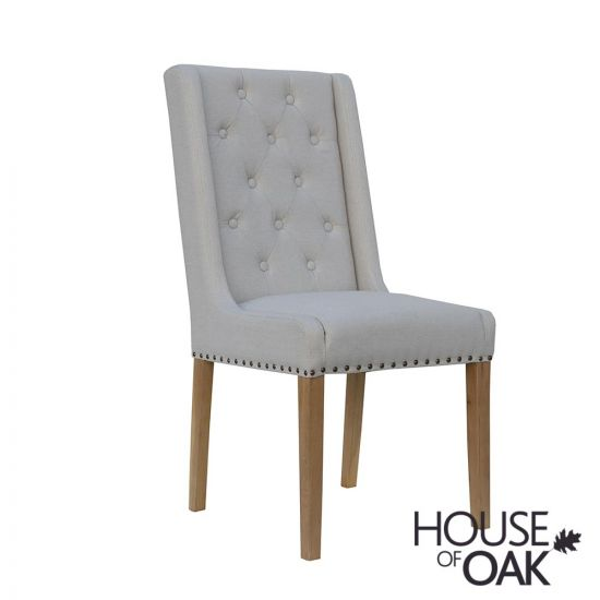 Chelsea Fabric Chair in Natural